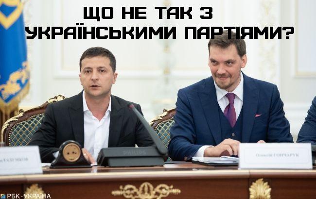 Що не так з українськими партіями?